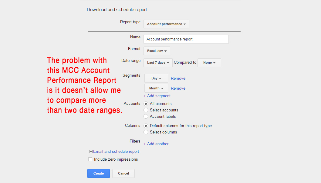 How To Review Account Performance of Up To 20+ AdWords Accounts Quickly without Spending Hours Creating Reports
