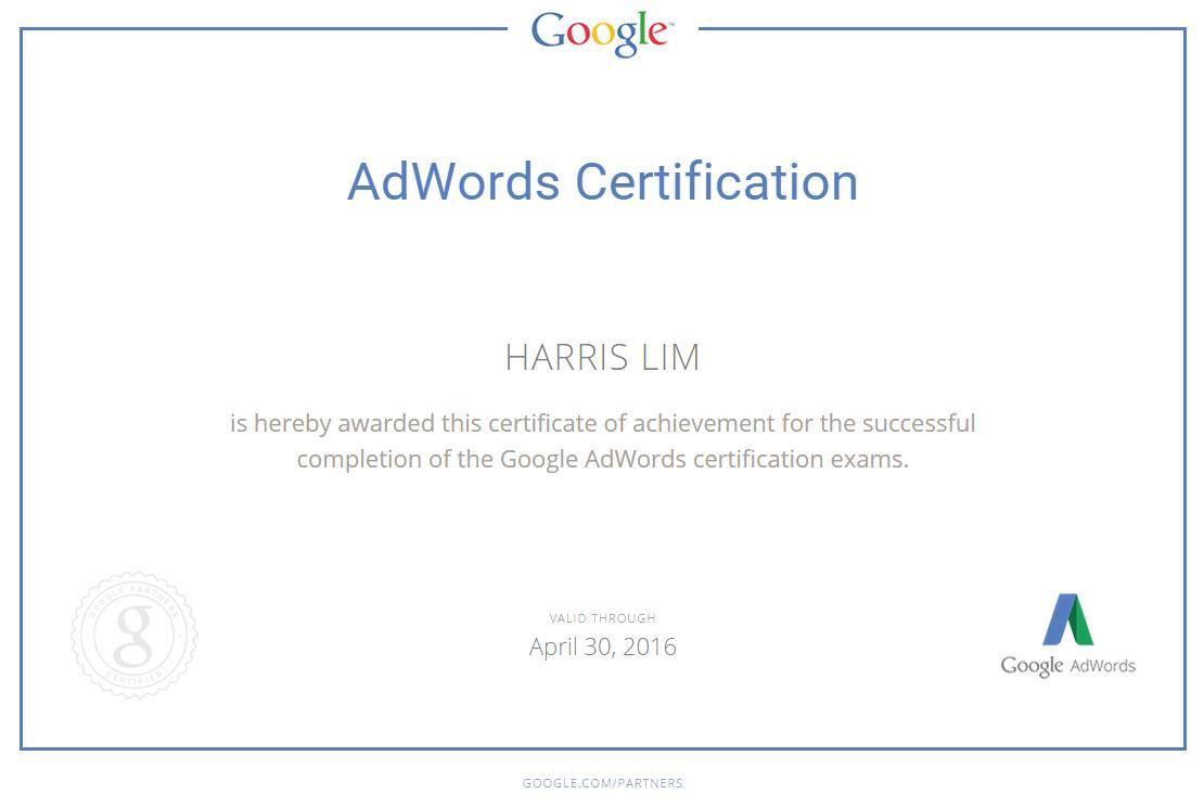AdWordsCertification